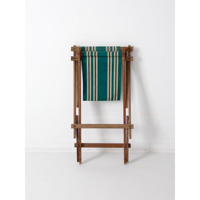 Vintage American Deck Chair - Image 9 of 9
