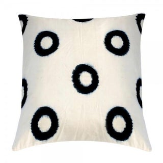 Hand-Loomed Ikat Pillow