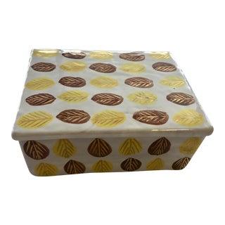 Raymor Italy Handmade Ceramic Box