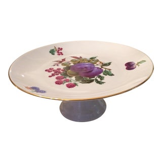 Israeli-Made Floral Cake Platter