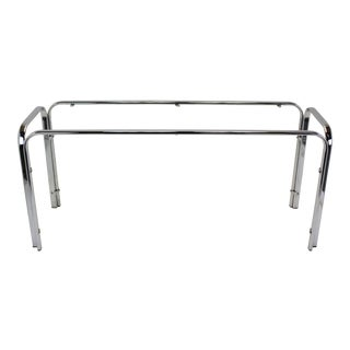 Vintage Waterfall Chrome Console
