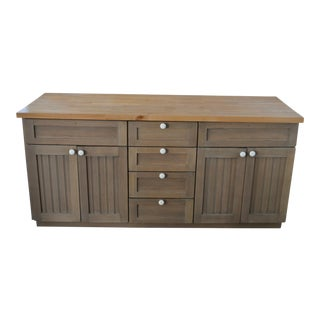 Maple Double Vanity or Credenza