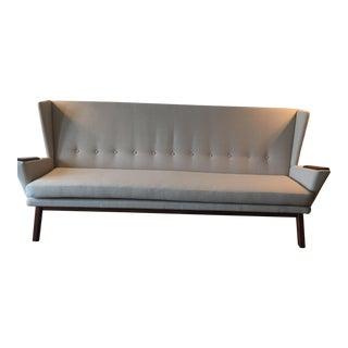 Mid-Century Modern Style Custom Made Sofa