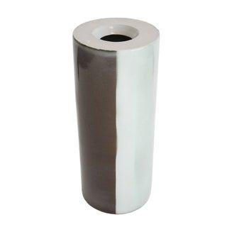 Ombre Slab Style Studio Pottery Vase