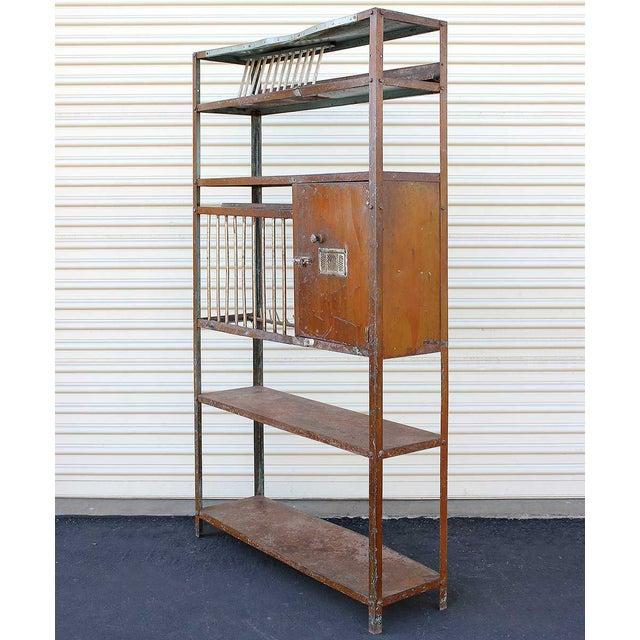 Vintage Brown Iron Rack - Image 3 of 5
