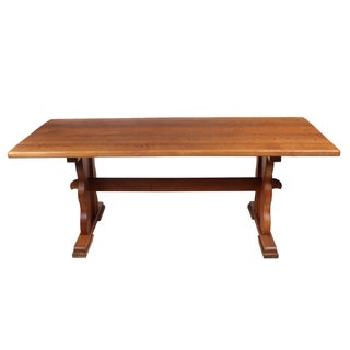 Flemish Trestle Dining Table C.1945