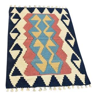Turkish Anatolian Wool Rug - 2′3″ × 3′7″