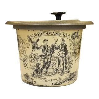 Paul Desmond Brown 'Sportsman's Bag' Ice Bucket