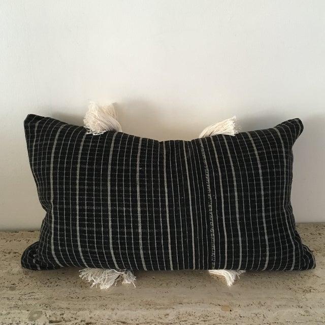Vintage Sumba Ikat Fringe Pillow - Image 5 of 9