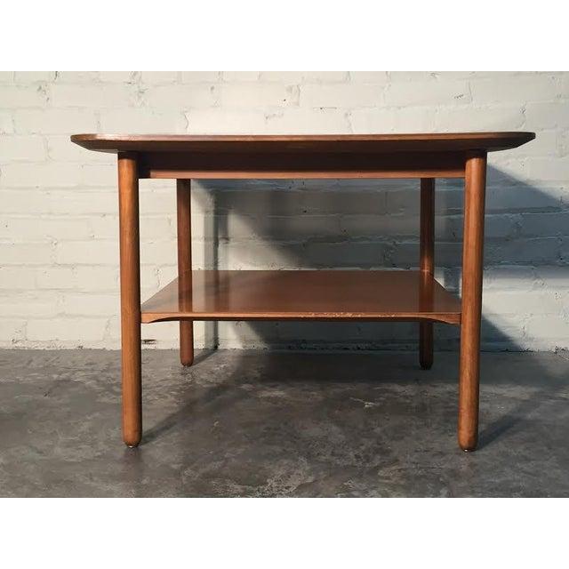Image of Mid-Century Modern Corner End Table