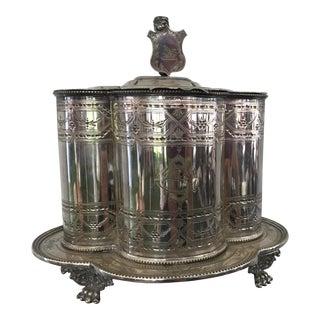 19th Century Biscuit Barrel