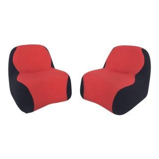 """Blob"" Chairs Designed by Karim Rashid - A Pair"