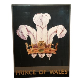 Prince of Wales English Pub Sign