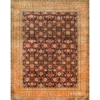 Pasargad Crown Jewel Agra Wool Rug - 9′4″ × 11′11″