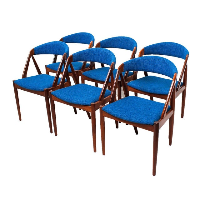 Kai Kristiansen Chairs Set Of 6 Chairish