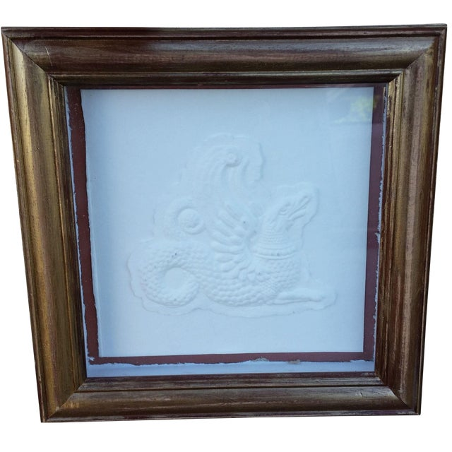 Framed Embossed Griffin - Image 1 of 5