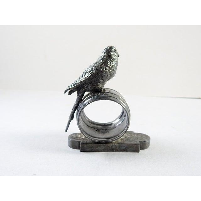 Figural Parakeet Napkin Ring - Image 4 of 7