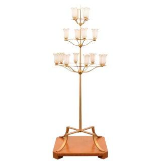 Monumental T.H. Robsjohn-Gibbings Floor Lamp from White Shadows Estate