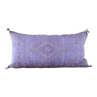 Lavender Moroccan Cactus Sabra Lumbar Cushion