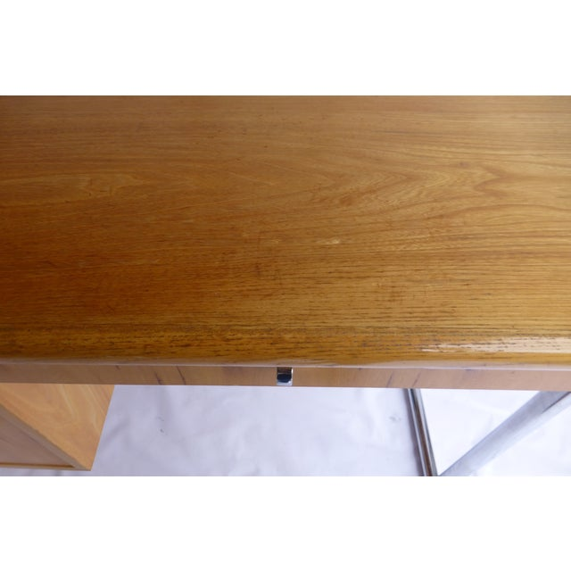 Jack Cartwright Mid-Century Birch Founders Desk - Image 5 of 9