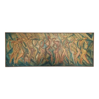 "Large ""Dancing Ladies"" Painting"