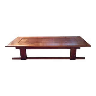 Anthony Beverly Large Mission Style Coffee Table