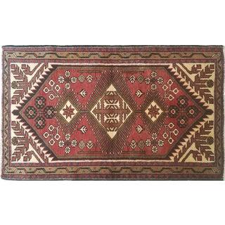"Vintage Persian Rug - 2'7"" X 4'4"""