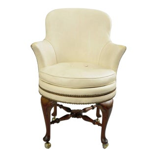 Vintage Used Queen Anne Accent Chairs Chairish