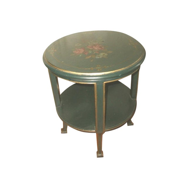 Hand painted 18th century italy coffee side table chairish for Table th width ignored