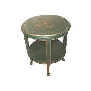 Hand Painted 18th Century Italy Coffee/Side Table