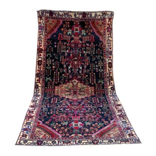 "Midnight in the Garden Persian Rug - 4'7"" x 10'8"""