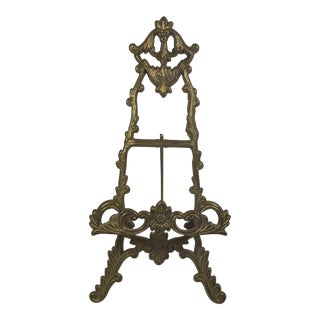 Brass Victorian Table Easel