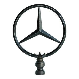 Mercedes Hood Ornament Lamp Finial