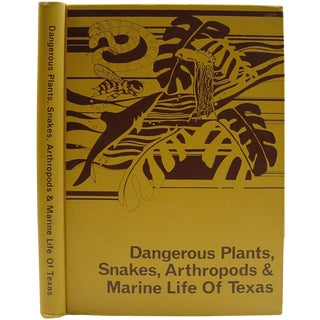 """Dangerous Wildlife & Sealife of Texas"" Book"