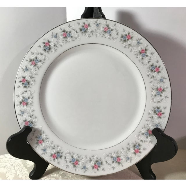 "Japanese China ""Corsage"" Dinner Plates - Set of 7 - Image 3 of 6"