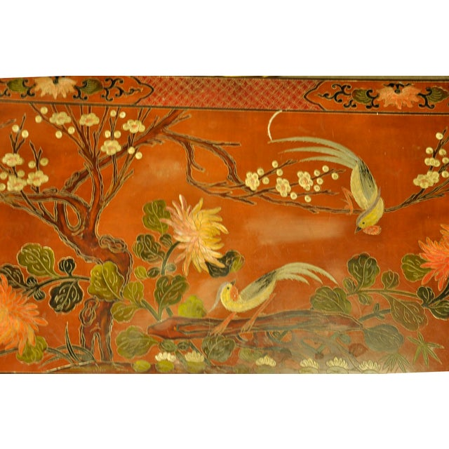 Vintage Asian Style Coffee Table - Image 5 of 8