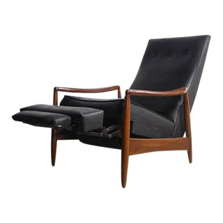 Milo Baughman Highback Recliner Chair
