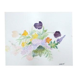 """""""Bouquet #1"""" Original Watercolor Painting"""