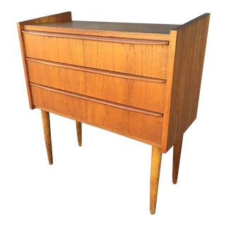 Mid-Century Danish Modern Small Teak Chest