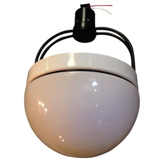 Industrial White Dome Light