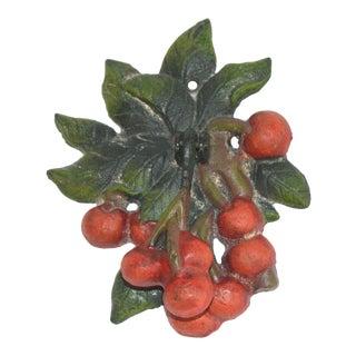 Bunch of Red Cherries Door Knocker