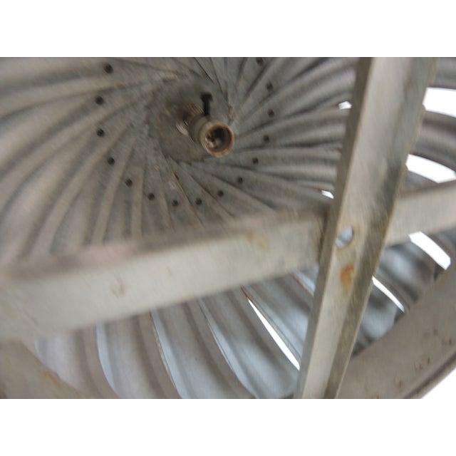 Vintage Industrial Ventilator Hanging Light - Image 4 of 6