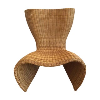 1990s Marc Newson Wicker Chair
