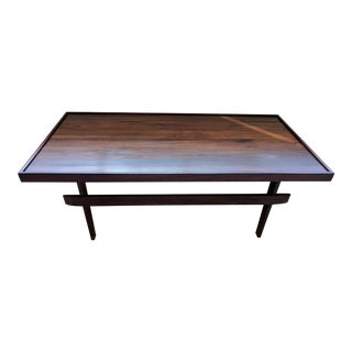 Mid Century Modernist Rosewood Coffee Table