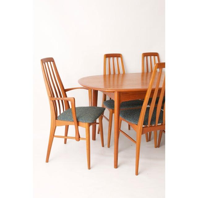 Koefoeds Hornslet Modern Teak Dining Set - Image 4 of 11