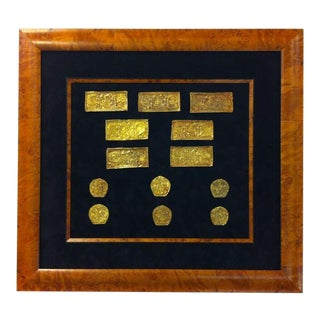 Set of Ordos Culture Gold Plaques