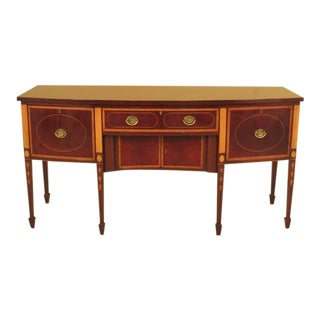 Kittinger Colonial Williamsburg Inlaid Mahogany Sideboard