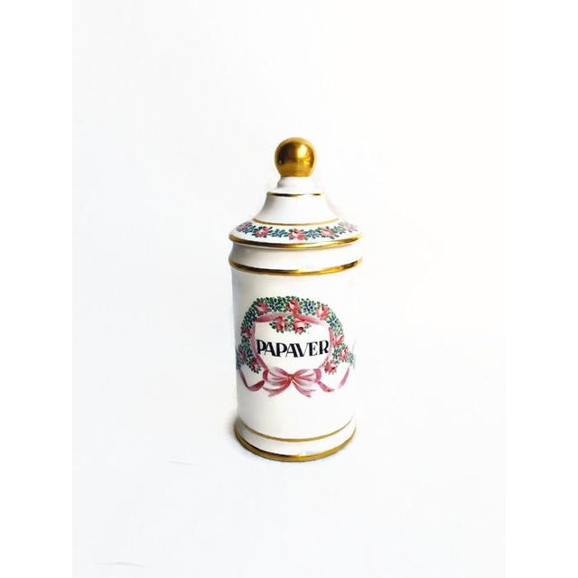 Vintage Apothecary Ceramic Opium Canister/Jar - Image 7 of 7