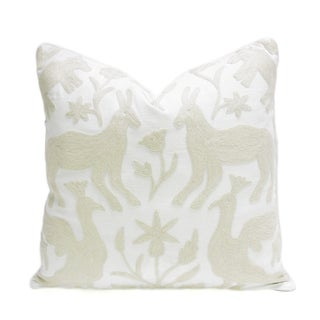 Kashmiri Native Otomi Animal Pillow