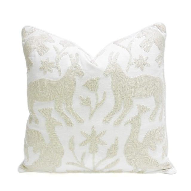Kashmiri Native Otomi Animal Pillow - Image 1 of 3